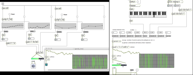 Stochastic Synthesis in Max/MSP