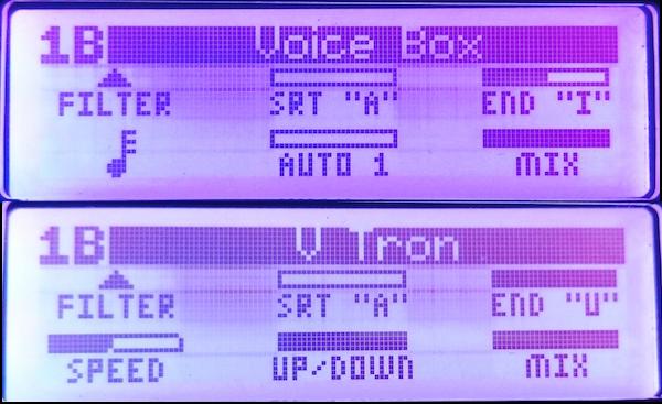 Line 6 M9: Voice Box + V Tron